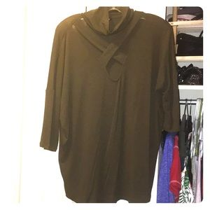 Olive Green Express Top Size Medium